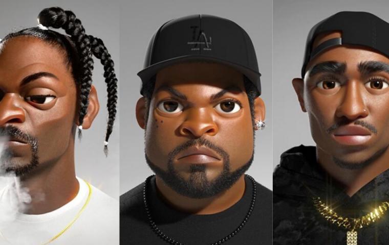 2Pac als Disney-Held: Animationskünstler verwandelt Rap-Legenden in 3D-Figuren