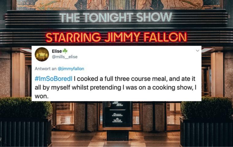 #ImSoBoredI: Wie Jimmy Fallons Fans auf kreative Weise ihre Langeweile bekämpfen