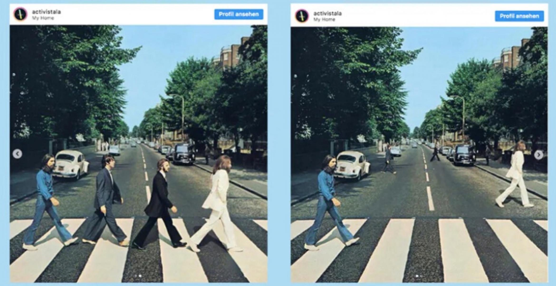 So sehen berühmte Albencover in Zeiten von Social Distancing aus