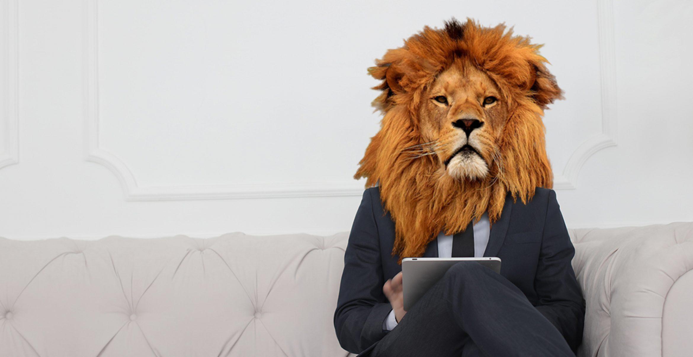Die Kolumne des Business Lion: Über Motivationssprüche, die nach hinten losgehen