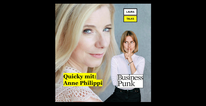 """""""Laura Talks"""": Laura Lewandowski im Interview mit Autorin und """"The New Health Club""""-CEO Anne Philippi"""