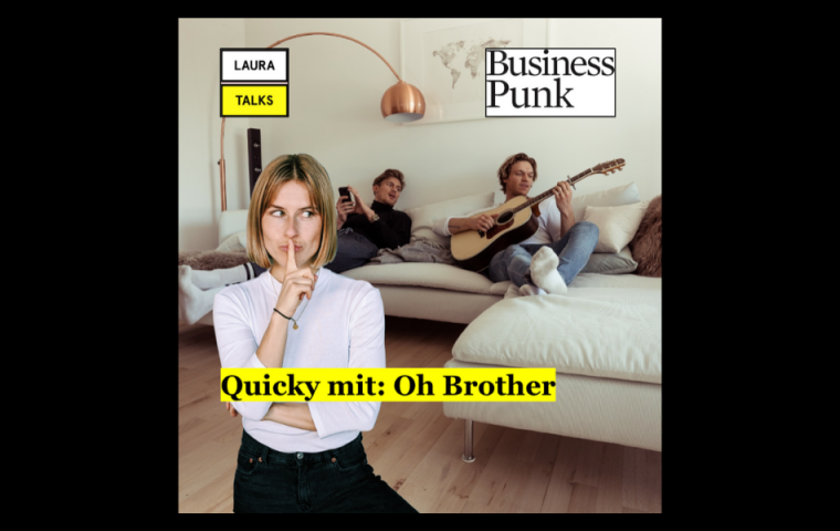 """Laura Talks"": Laura Lewandowski im Interview mit der Band ""Oh Brother"""