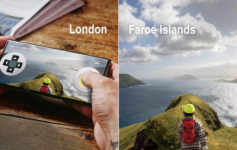 Bei einer virtuellen Tour auf den Färöern kann man den Guide remote selbst steuern
