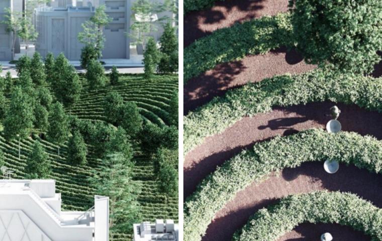Österreicher Architektenbüro entwirft ersten Social-Distancing-Park