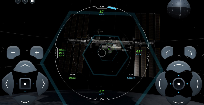 Neue SpaceX-Simulation zeigt euch, wie ihr erfolgreich an die ISS andockt