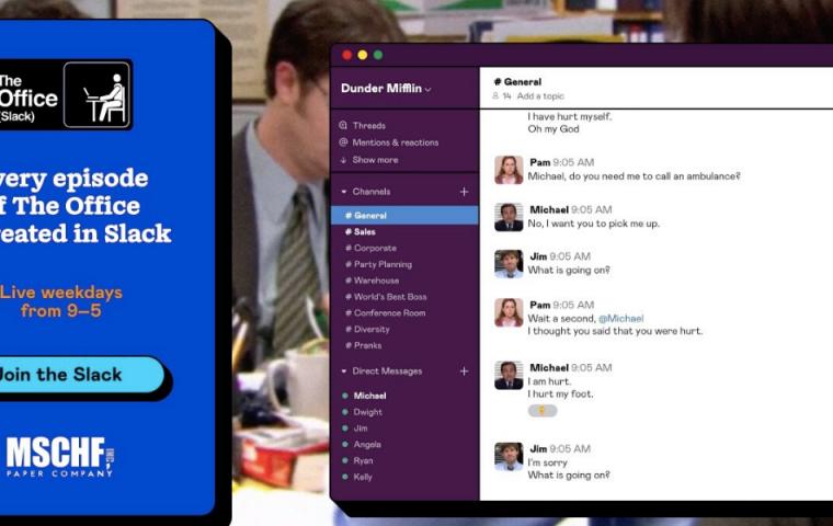 """Auf Slack könnt ihr euch jetzt alle 201 Episoden von """"The Office"""" reinziehen"""