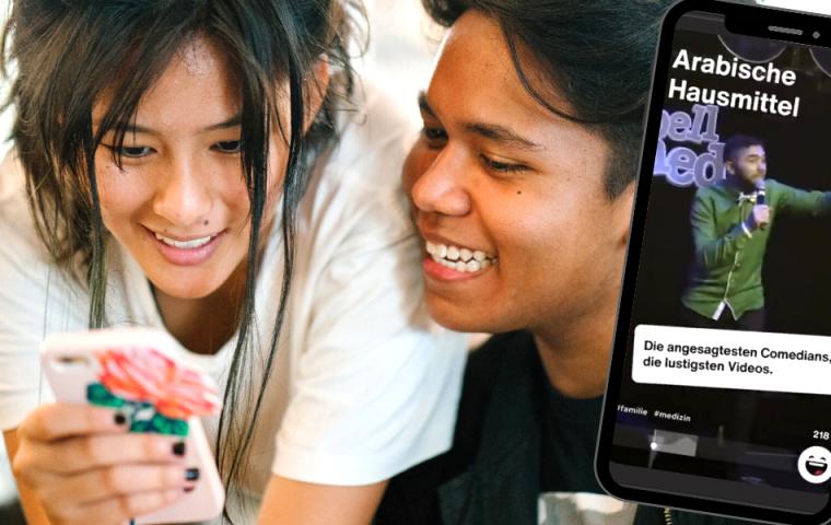 Was kann ProSiebens neue Comedy-App Smyle?
