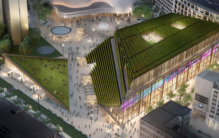 30.000 Sträucher verpflanzt: In Düsseldorf steht das grünste Gebäude Europas