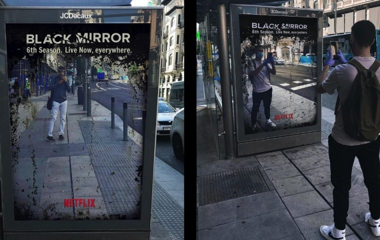 """Netflix zeigt mit Plakat: Wir befinden uns aktuell in der sechsten Staffel von """"Black Mirror"""""""
