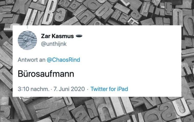 Zehn Tweets, die Berufen mit   nur einem Buchstaben eine völlig neue Bedeutung geben