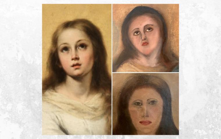 Restaurator soll wertvolles Gemälde ausbessern und verunstaltet es – zwei Mal
