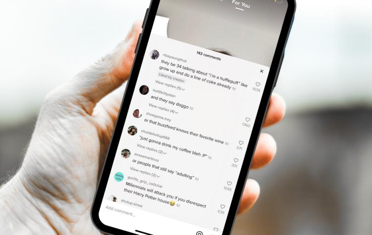 Kommentare auf TikTok zeigen, wie die Generation Z über Millennials denkt