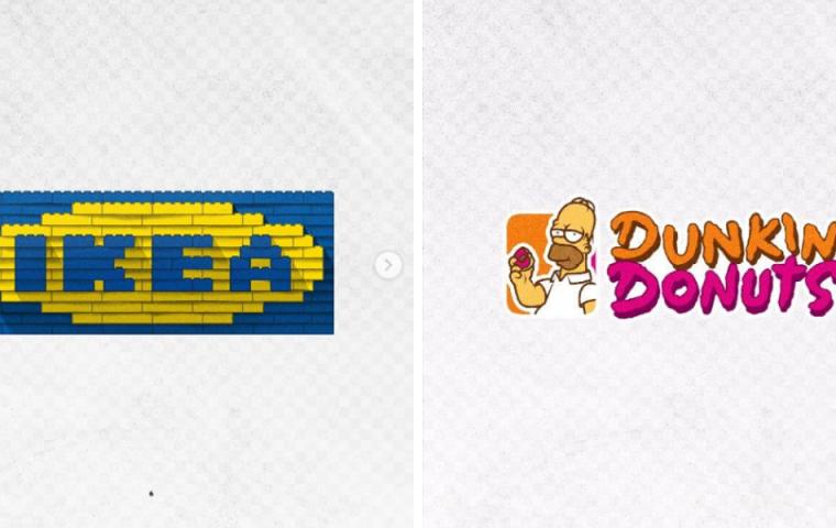 Besser als das Original? Designer remixt ikonische Firmenlogos