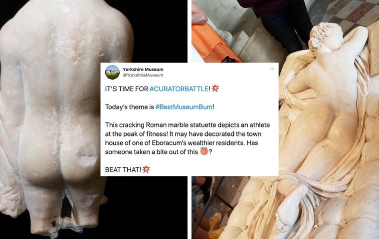 Museen wetteifern auf Twitter um den schönsten Allerwertesten der Kunstgeschichte
