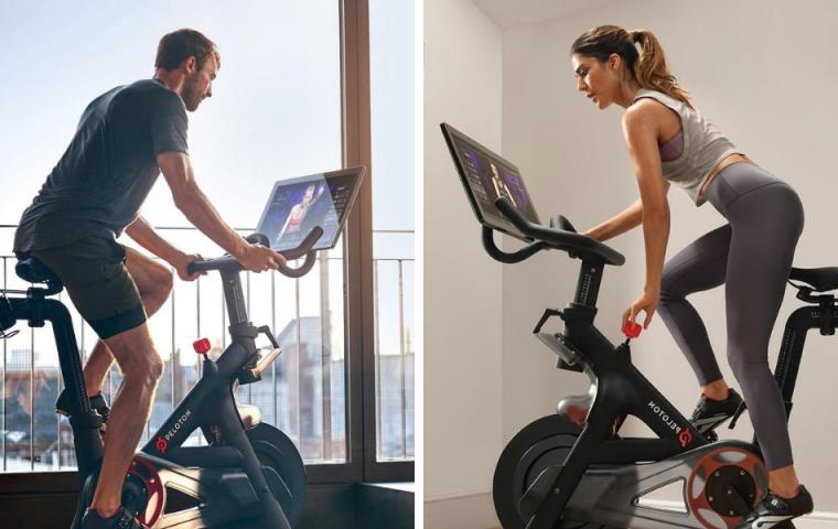 Hightech-Strampel-Bikes: Wie Peloton auch nach der Coronakrise Wohnzimmer erobern will