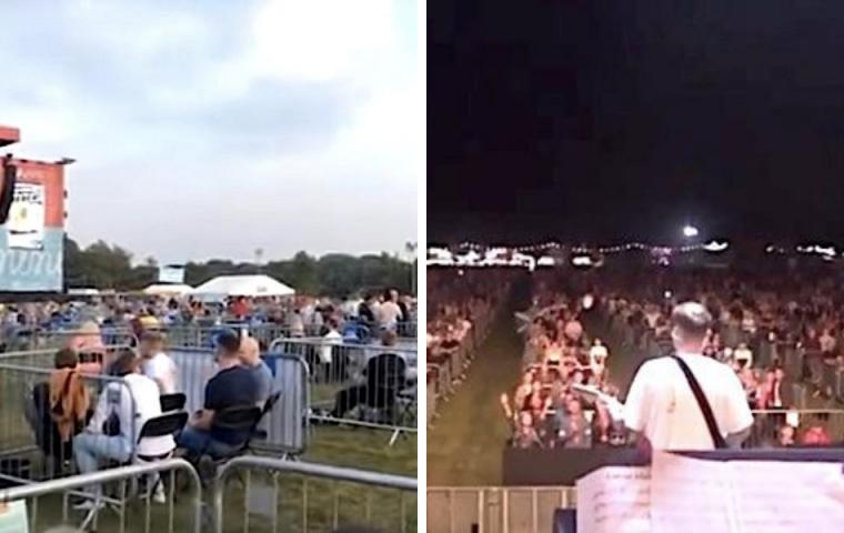 2.500 Zuschauer*innen: England zeigt, wie Großkonzerte zu Corona-Zeiten aussehen