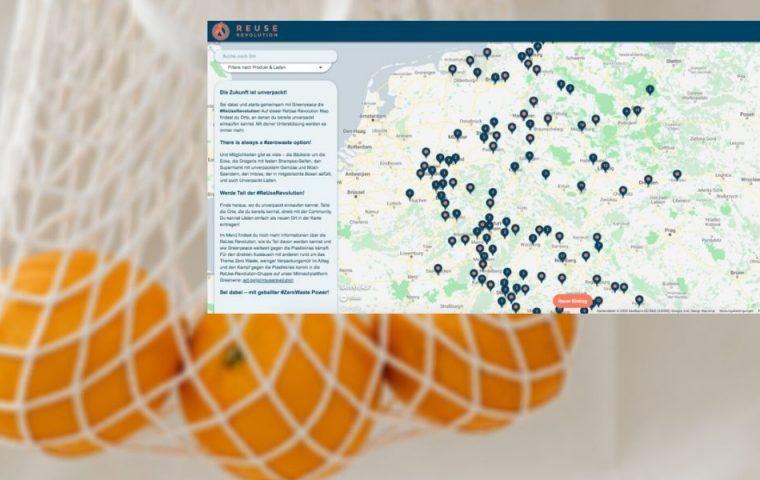 ReUse-Revolution-Map: Diese interaktive Karte zeigt alle Unverpacktläden in Deutschland