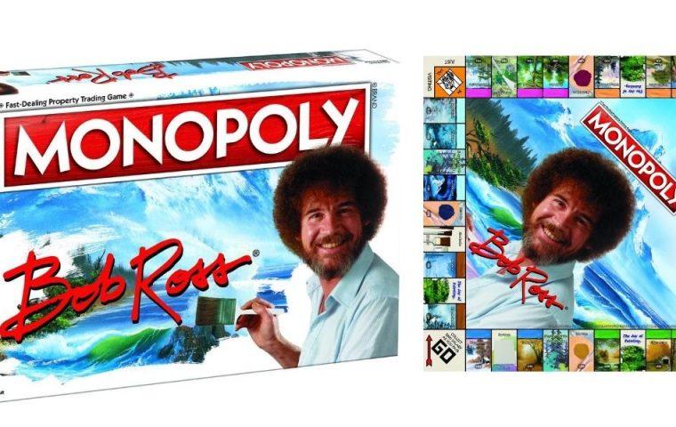 Diese Monopoly-Variante im Bob-Ross-Style soll die friedlichste Edition ever sein