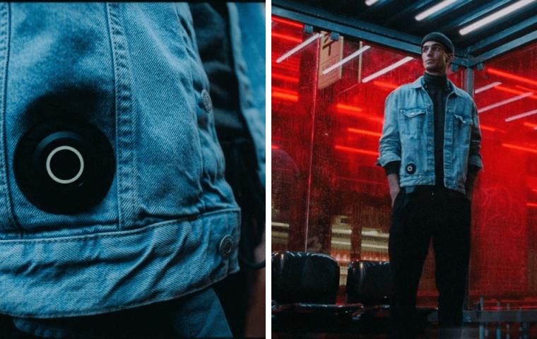 """Cool oder creepy? H&M stellt mit """"Wearable Love"""" eine Jeansjacke vor, die berührt"""