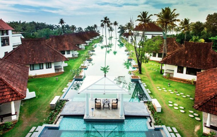 Indisches Luxushotel macht aus 150 Meter langem Pool notgedrungen eine Fischfarm