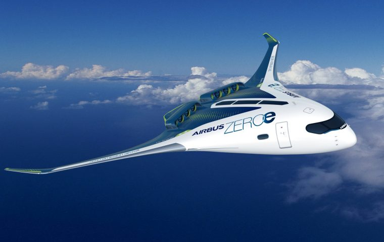 Science-Fiction goes Reality: Airbus stellt futuristisches Flugzeug mit Wasserstoffantrieb vor