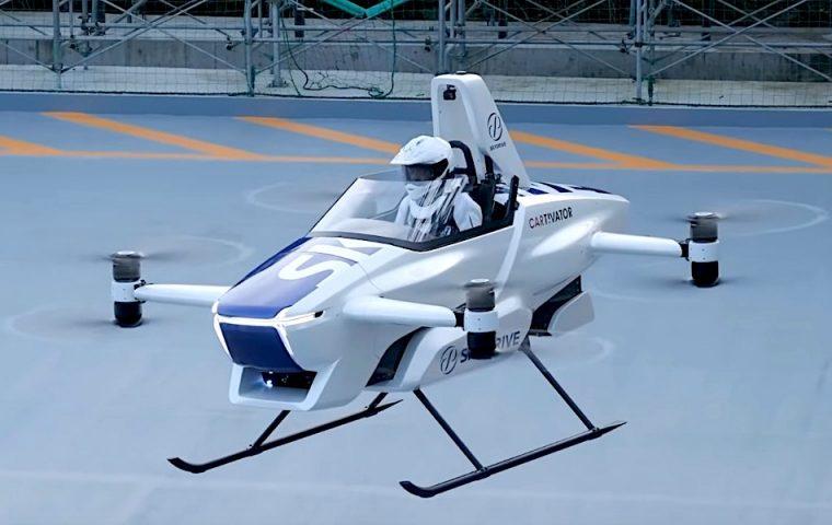 Fliegende Autos? Japan hat jetzt erfolgreich eins getestet
