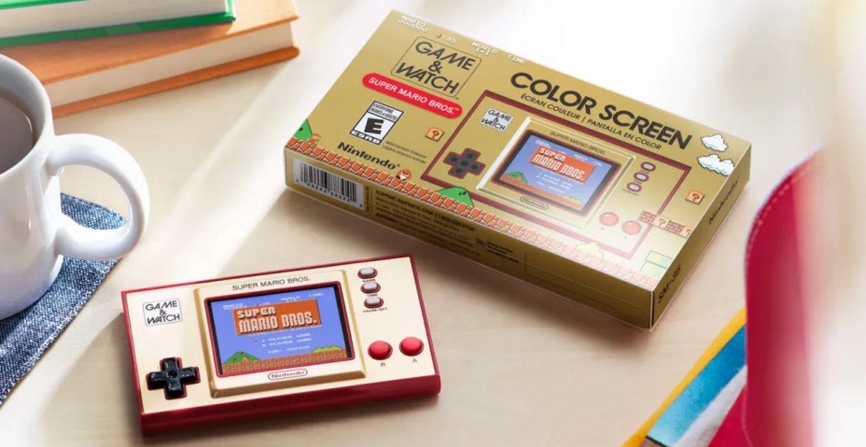 """""""Super Mario"""" wird 35 – zur Feier stellt Nintendo einen neuen Nostalgie-Handheld vor"""