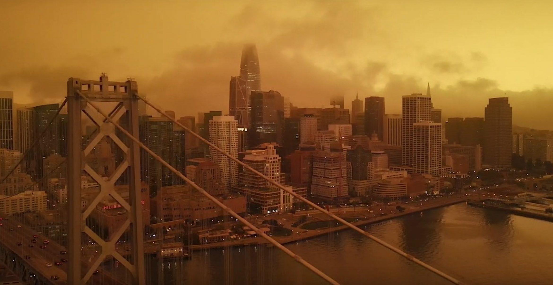 """Drohnenvideo: San Francisco sieht wegen Waldbränden gerade aus wie """"Blade Runner 2049"""""""