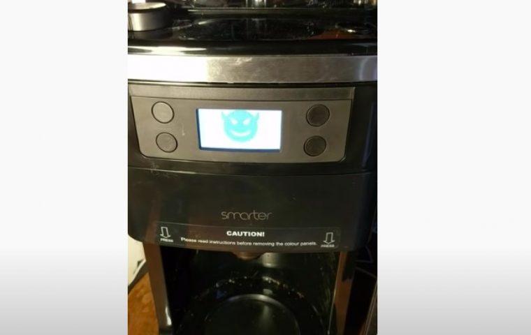 Wissenschaftler macht aus Kaffeemaschine einen Erpresser, der Lösegeld verlangt
