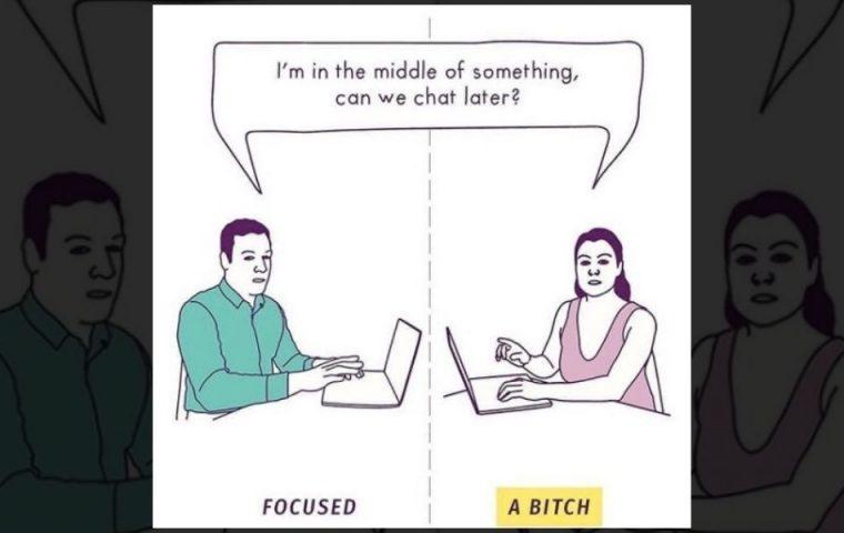 Sieben Beispiele dafür, dass Frauen im Job anders wahrgenommen werden als Männer