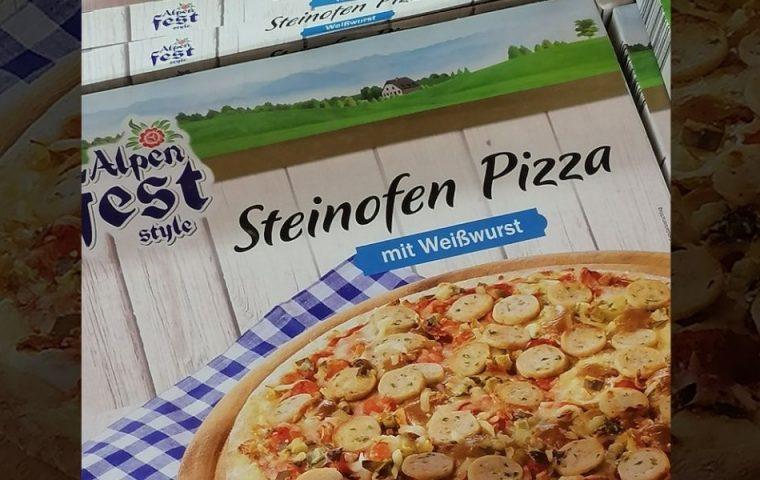 Genial oder Skandal? Lidl kreiert passend zur Wiesn-Saison Steinoffenpizza mit Weißwurst