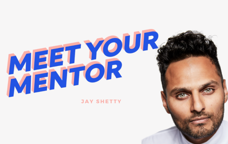 "MEET YOUR MENTOR: #9 Jay Shetty über sein neues Buch ""Think like a Monk"""