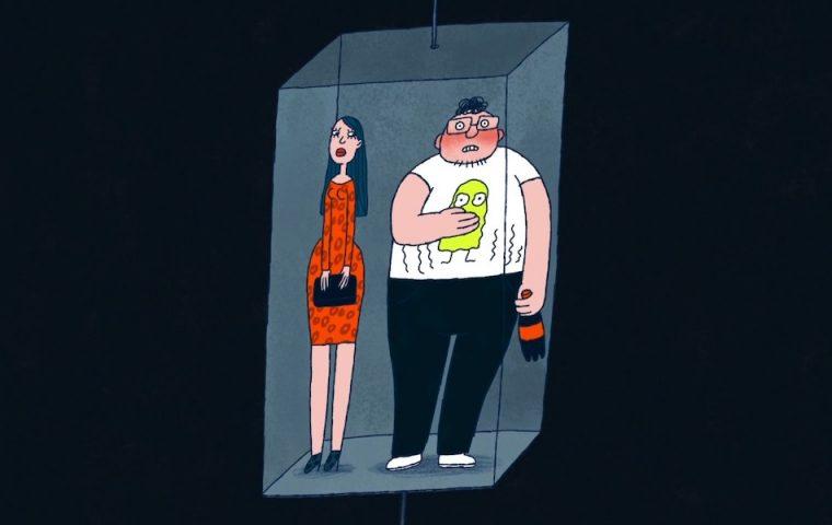 """Der animierte Kurzfilm """"Awkward"""" zeigt, wie peinlich und unangenehm der Alltag sein kann"""