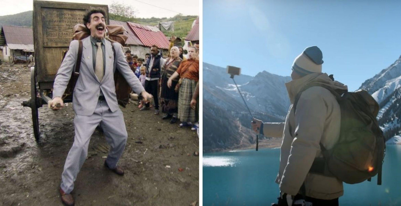 """Geniales Marketing: Die Tourismusbehörde von Kasachstan nutzt Hype um neuen """"Borat""""-Film perfekt aus"""