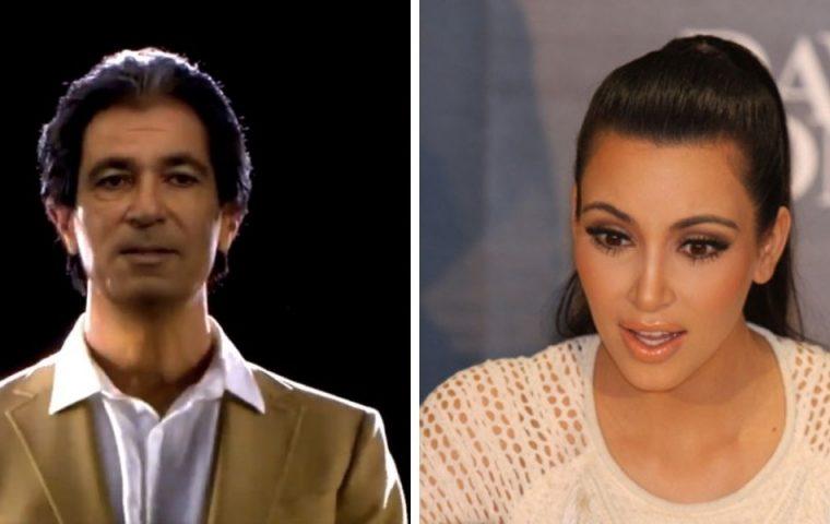 Kanye West schenkt Kim Kardashian Hologramm-Botschaft ihres verstorbenen Vaters
