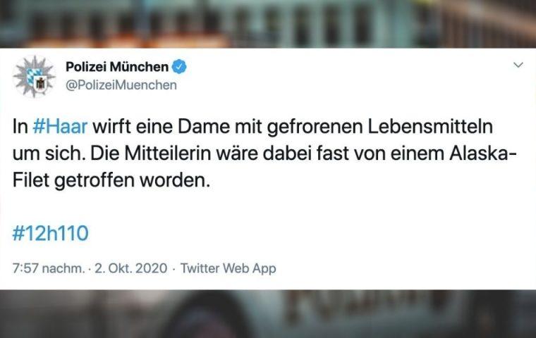 Statt #Wiesnwache: Die besten Tweets der Münchner Polizei zu #12h110