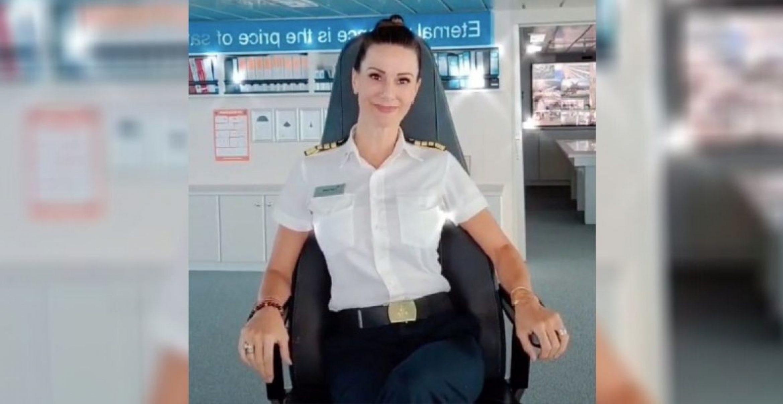 Mic-Drop: Die erste Kreuzfahrtschiff-Kapitänin der USA kontert sexistischen Kommentar