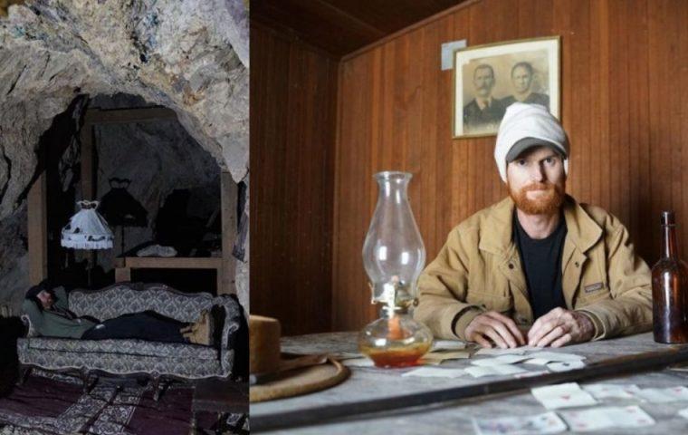 Dieser Unternehmer verbringt seine Quarantäne in einer Geisterstadt und baut sie wieder auf