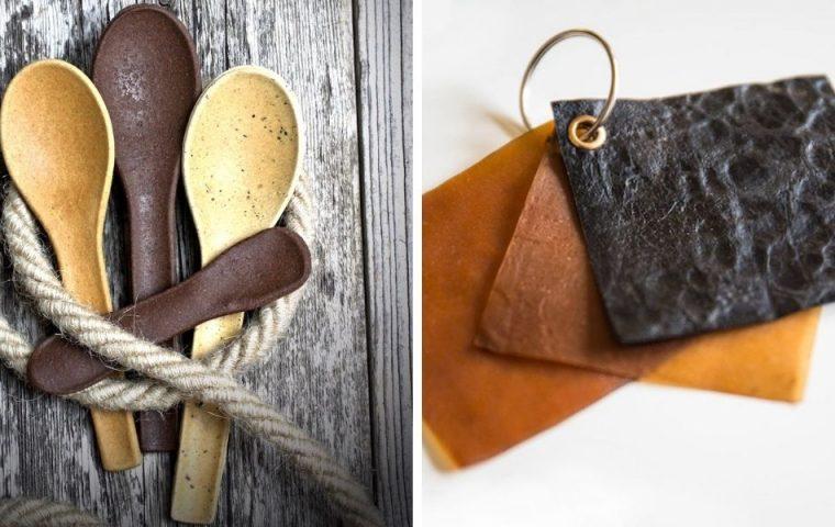 Essbare Löffel und veganes Leder aus Pilzen: Wie nachhaltige Produkte die Welt verbessern