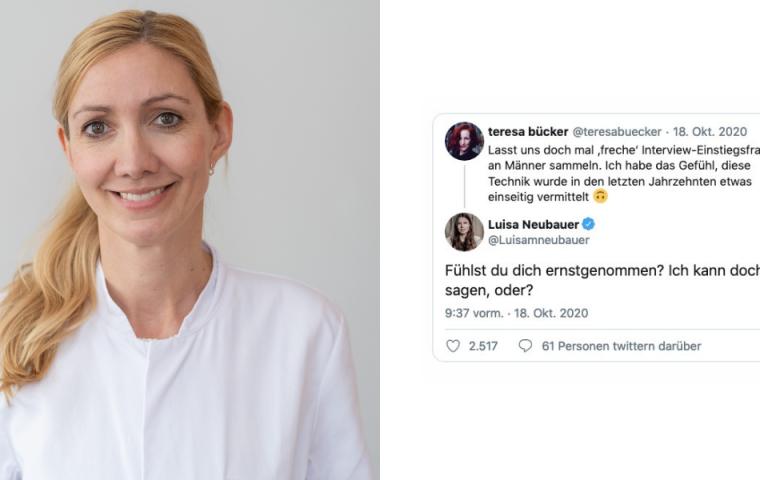 """Nach #Quotenfrau-Diskussion um Sandra Ciesek – Frauen antworten mit """"frechen"""" Fragen an Männer"""