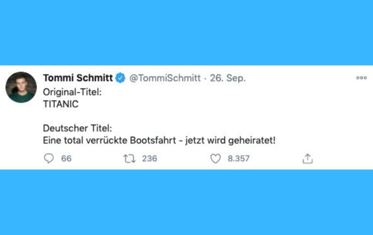 Twitter-Thread zeigt: Coole Originaltitel dämlich zu übersetzen, ist eine deutsche Kernkompetenz