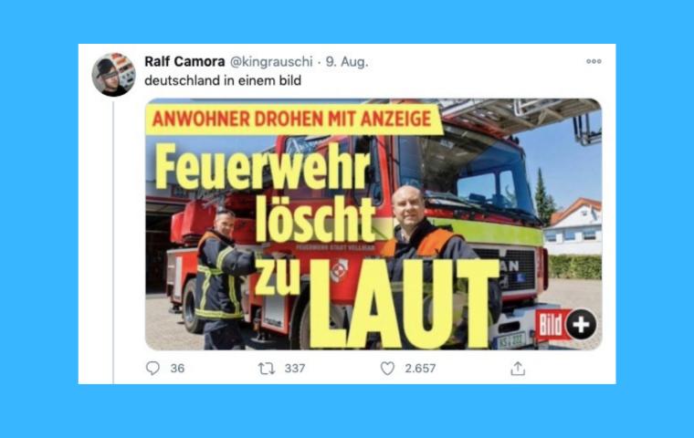 Die Marotten des Almans: Zehn Tweets über typisch deutsches Verhalten
