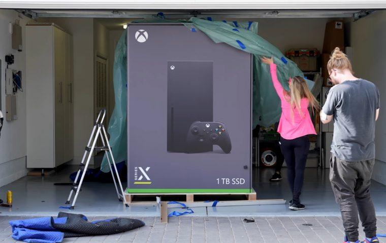 Microsoft macht aus Meme Realität und verschenkt riesigen Xbox-Kühlschrank