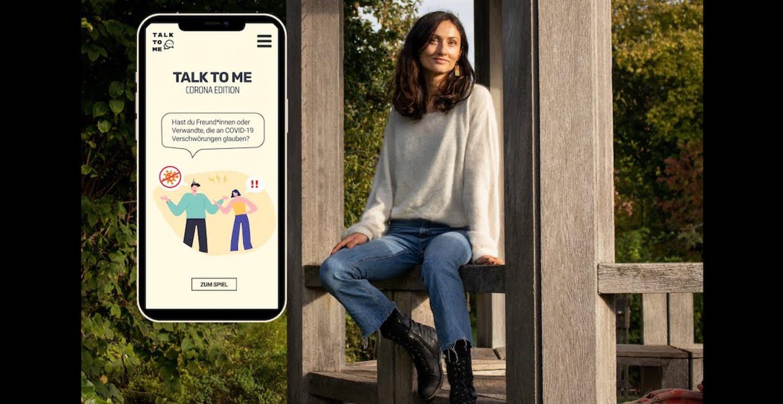 """""""Talk to me"""": Mit dieser App werdet ihr schlagfertiger gegenüber Corona-Leugnenden"""