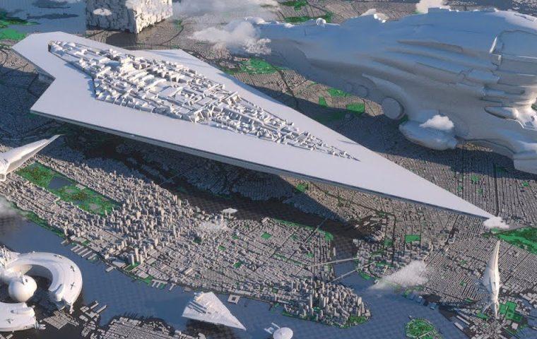 """Von """"Rick and Morty"""" bis """"Star Wars"""": Animationsvideo zeigt, wie riesig fiktive Raumschiffe im Vergleich sind"""