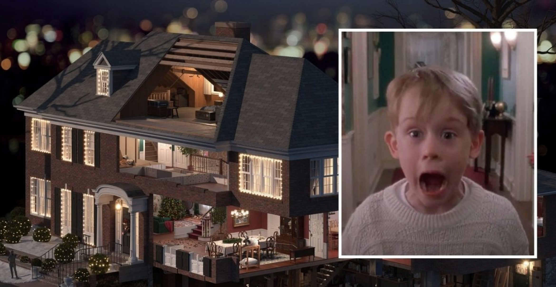 """3D-modelliertes Haus: Wer findet alle 14 Fallen aus """"Kevin allein zu Haus""""?"""