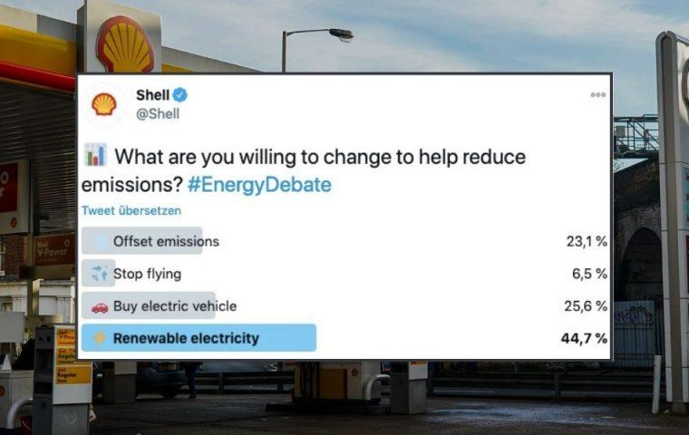 Shell erlebt Shitstorm nach Twitter-Umfrage – sogar Greta Thunberg meldet sich