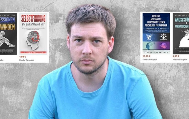 Schrottbücher: Warum stehen Ratgeber von erfundenen Autor*innen in den Amazon-Bestseller-Listen?