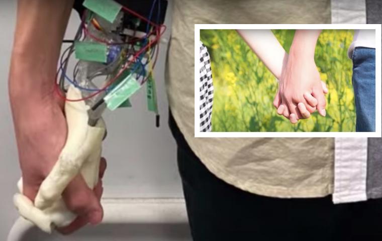Nie mehr allein sein: Schwitzende Roboterhand lässt euch euer Single-Dasein vergessen