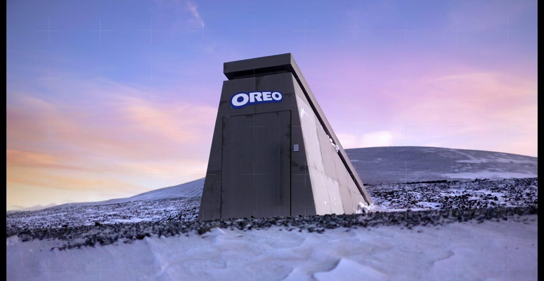 Apokalyptischer PR-Stunt: Oreo baut in Norwegen einen Bunker für Kekse